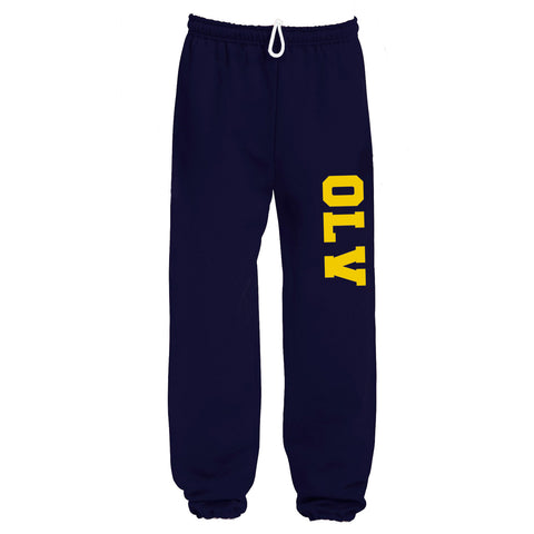 OLV - PANTS - Gildan Fleece - Open & Closed Bottom - ADULT