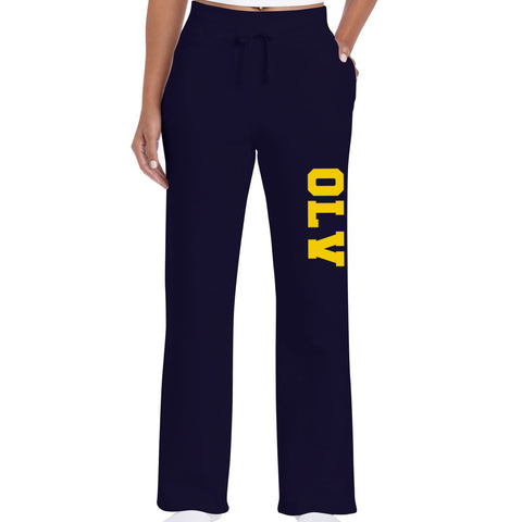 OLV - PANTS - Gildan Fleece - Open Bottom Sweatpants - LADIES