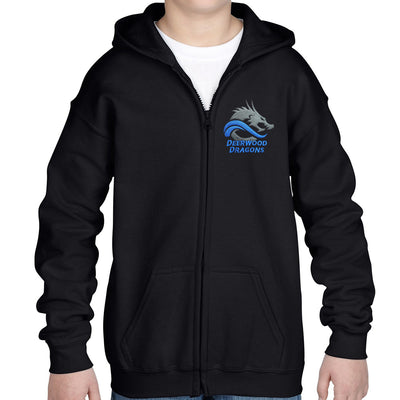 GILDAN Fleece Full Zip - YOUTH