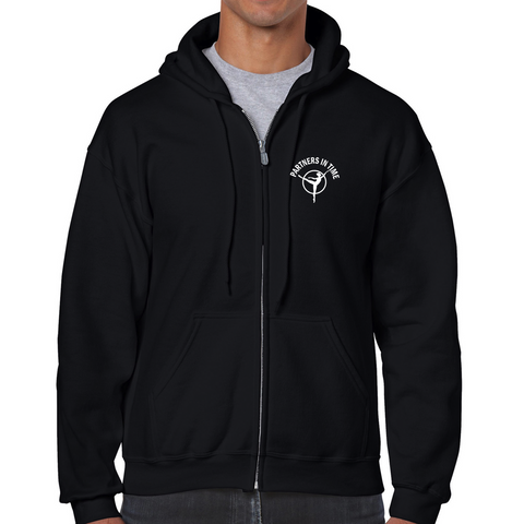 PTDC - HOODIE - Gildan FULL ZIP - Various Colours - ADULT
