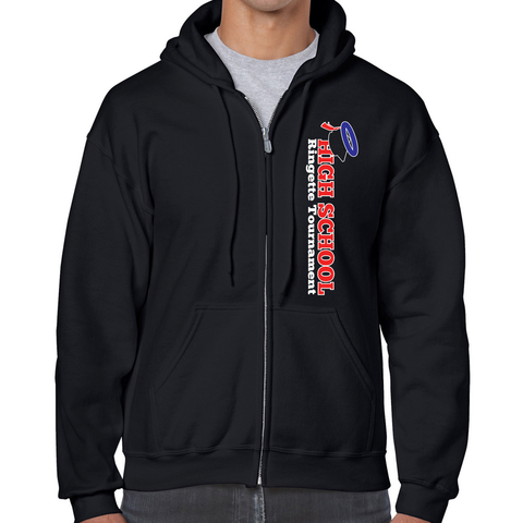 RING - HOODIE - Gildan Full Zip - ADULT