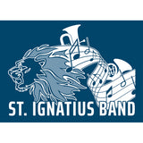 Close up: **NEW** St Ignatius Band logo