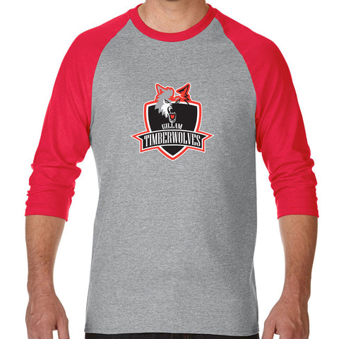 Sport Grey/Red - Shield logo