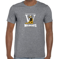 Graphite Heather - WBS Wildcats logo