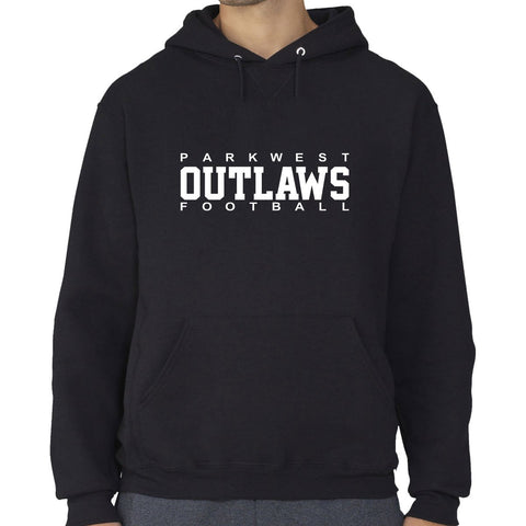 Black - PARKWEST OUTLAWS logo