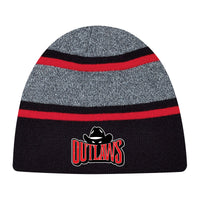 PWO - HEADWEAR - AJM Rib Knit Toque (AVAILABLE from the OUTLAWS CANTEEN)