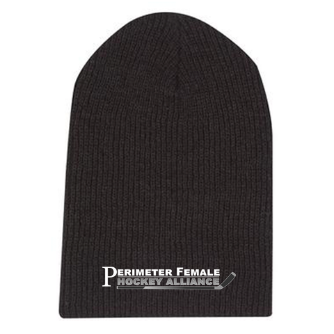 PFHA - HEADWEAR - TOQUES - 4 Styles: Longer Beanie, Cuff, Board, & Pom