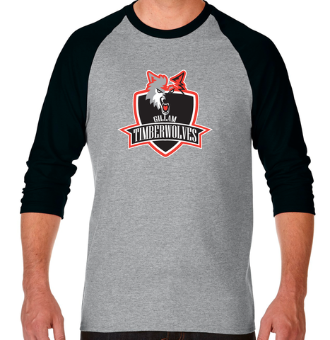 IDEA - Gildan 3/4 Raglan T-shirt - ADULT