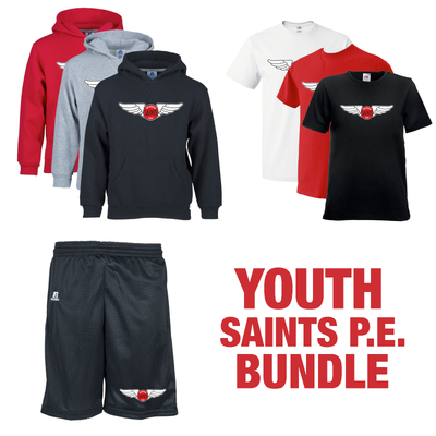 SAINTS P.E. BUNDLE - YOUTH