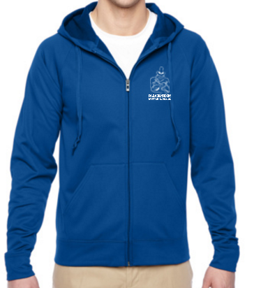 IDEA - Full Zip Jerzees Hooded Performance Sweatshirt