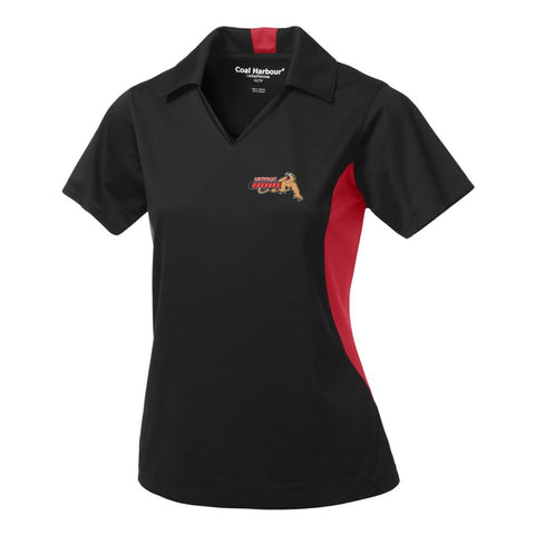 Ladies - Black/True Red