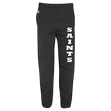 JH - Russell Fleece Pants (Closed or Open Bottom) - Black or Grey - ADULT