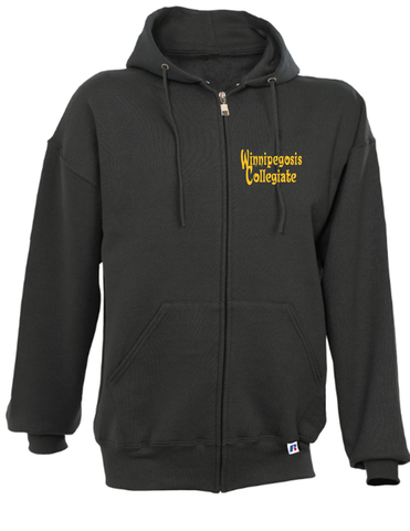 IDEA - Full Zip Russell Hoodie - ADULT