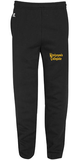 WPG - PANTS - Russell Fleece - Closed or Open Bottom - Black or Grey - ADULT