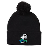DM - TOQUE w/Pom - Grey/Black or Black