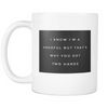 "Limited Edition - ""I'm A Handful"" 11oz Mug - Valentines Mugs - Mugdom Coffee Mugs"