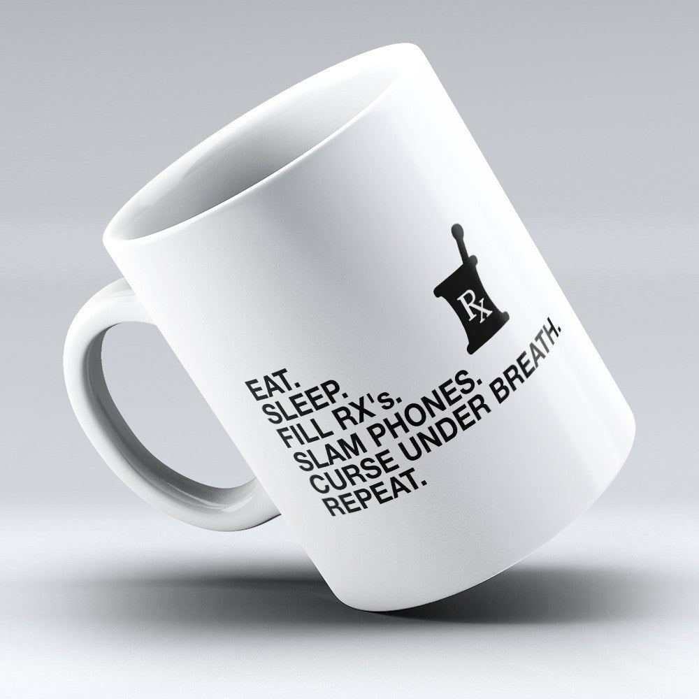 "Limited Edition - ""Fill"" 11oz Mug - Pharmacist Mugs - Mugdom Coffee Mugs"