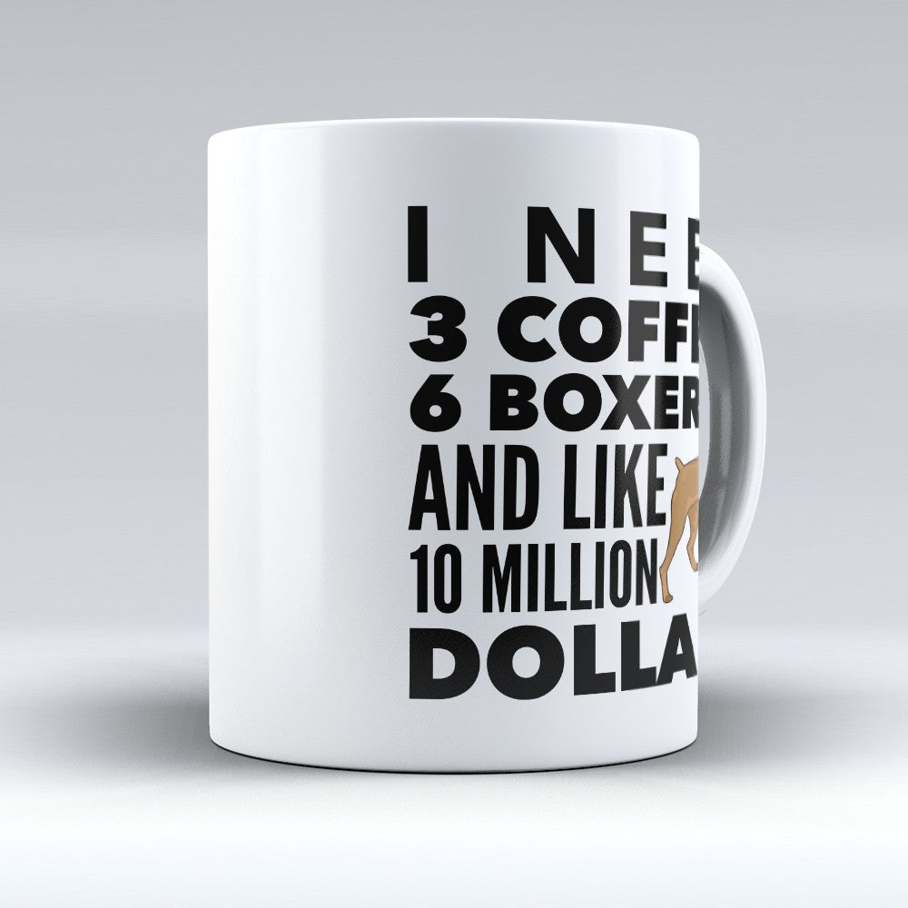 "Limited Edition - ""6 Boxers"" 11oz Mug"
