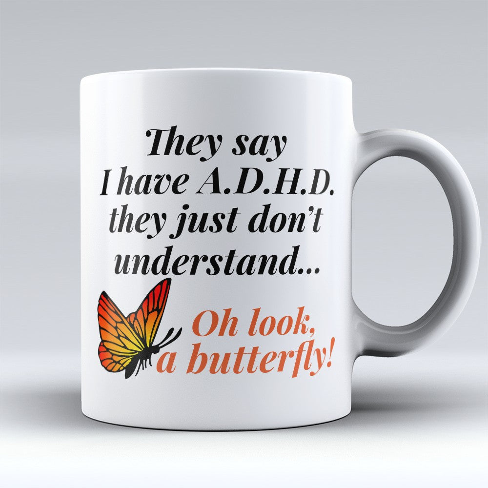 "Limited Edition - ""A Butterfly"" 11oz Mug"