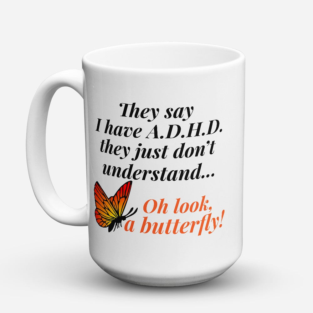 "Limited Edition - ""A Butterfly"" 15oz Mug"