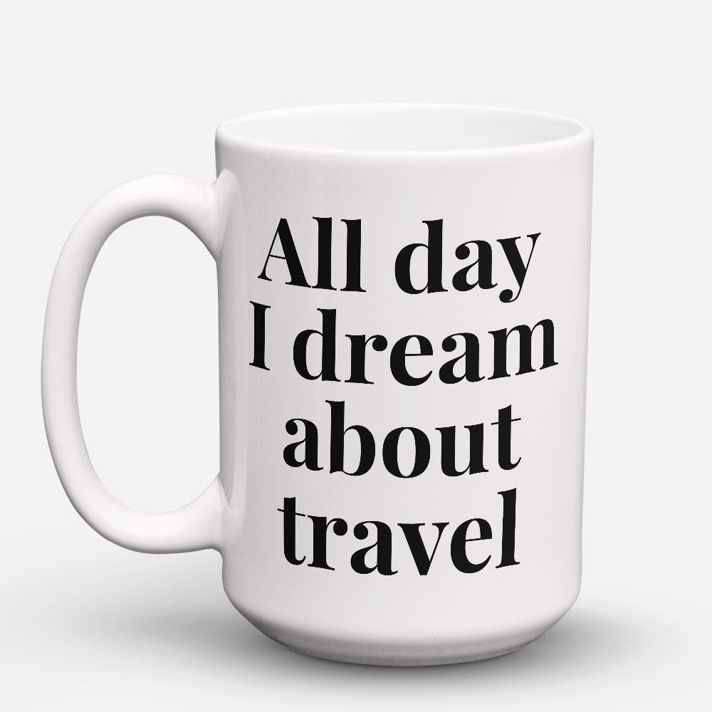 "Limited Edition - ""About Travel"" 15oz Mug"