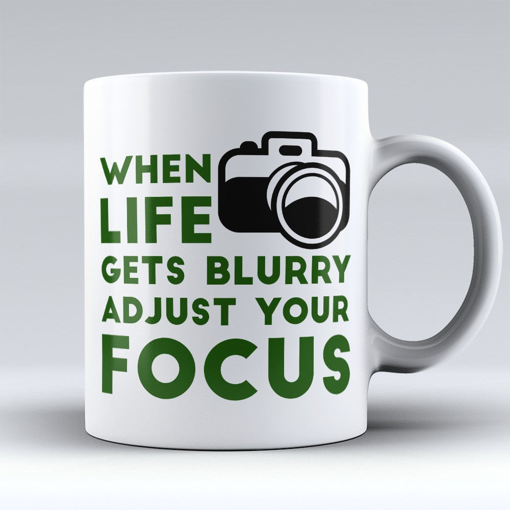 "Limited Edition - ""Adjust Your Focus"" 11oz Mug"