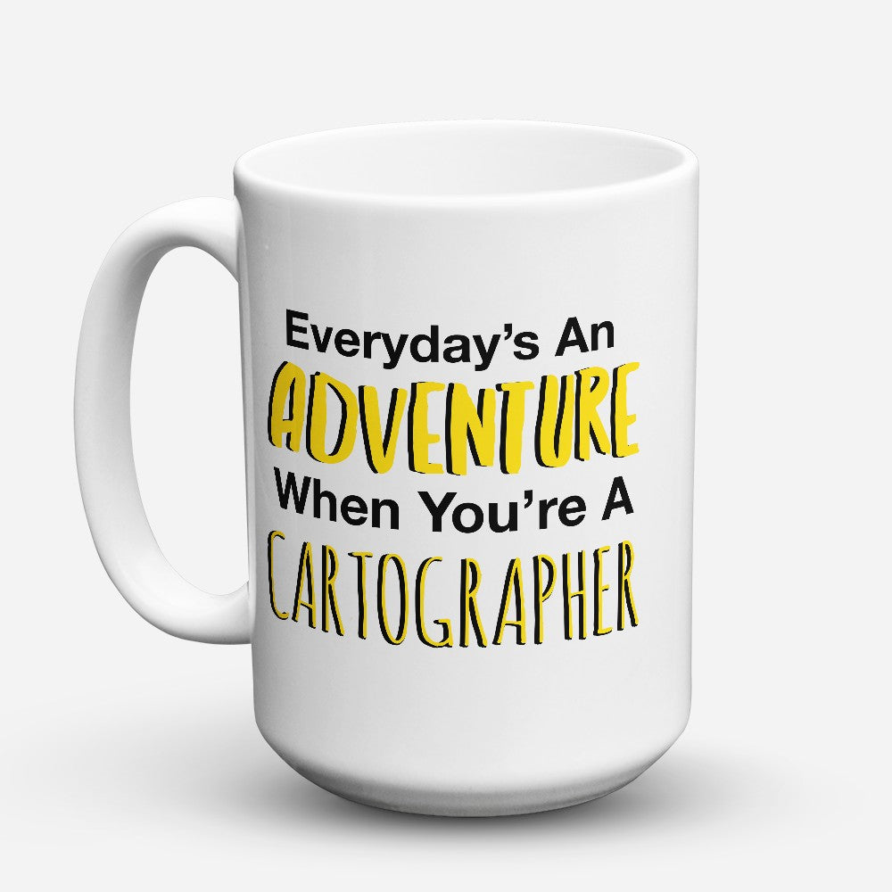 "Limited Edition - ""Adventure Cartographer"" 15oz Mug"