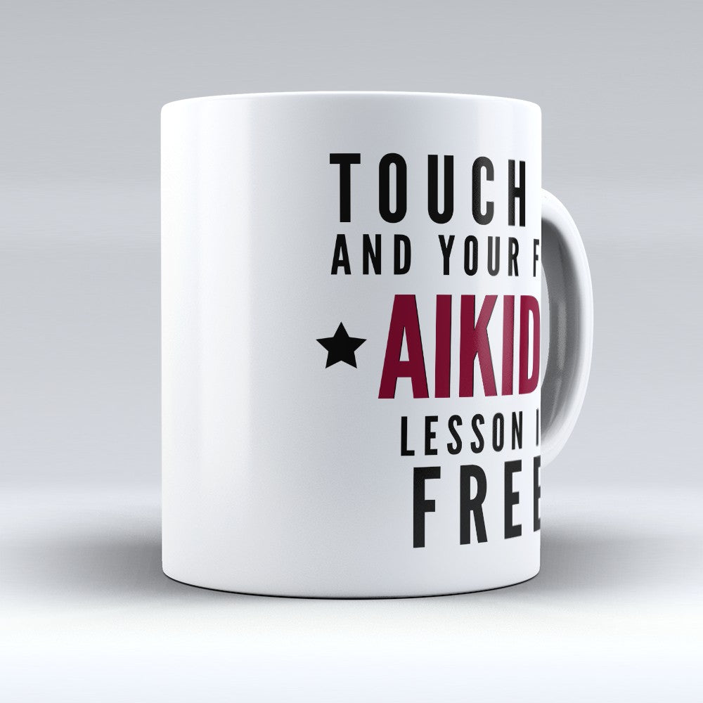 "Limited Edition - ""Aikido Lesson"" 11oz Mug"