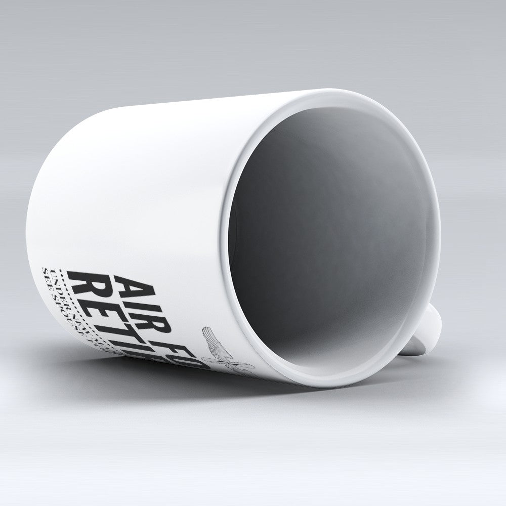 "Limited Edition - ""Air Force Retired"" 11oz Mug"