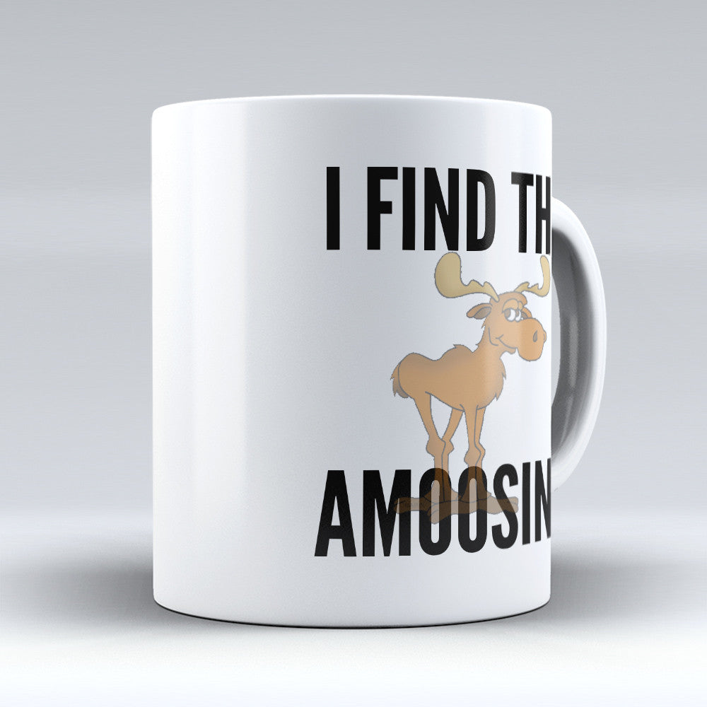 "Limited Edition - ""Canadians Amoosing"" 11oz Mug - Canada Mugs - Mugdom Coffee Mugs"