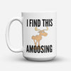 "Limited Edition - ""Canadians Amoosing"" 15oz Mug - Canada Mugs - Mugdom Coffee Mugs"