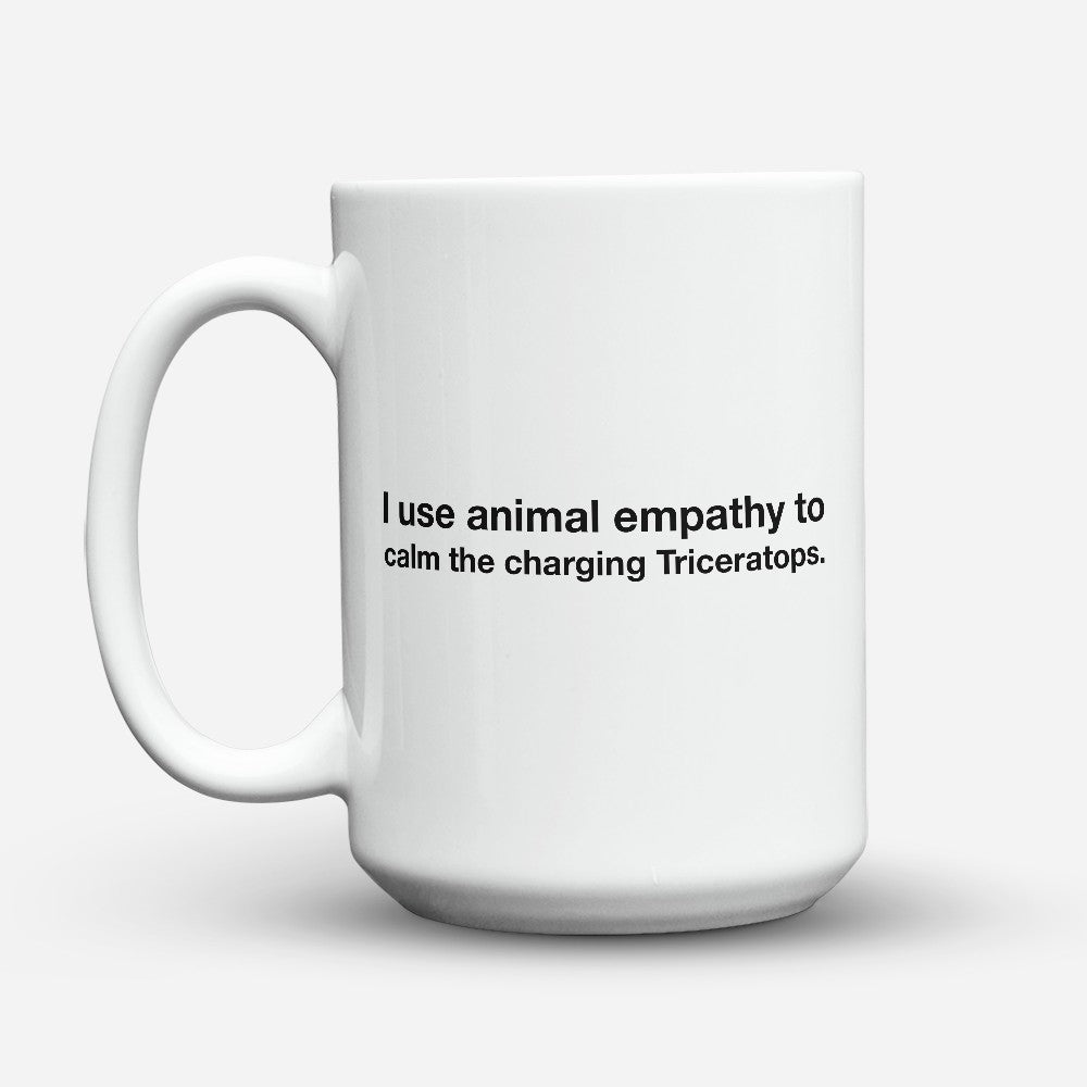 "Limited Edition - ""Animal Empathy"" 15oz Mug"