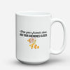 "Limited Edition - ""Anemones "" 15oz Mug - Aquarist Mugs - Mugdom Coffee Mugs"