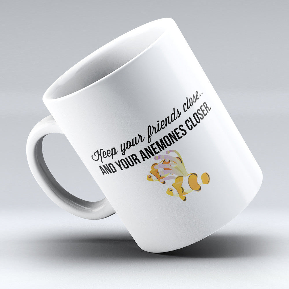 "Limited Edition - ""Anemones "" 11oz Mug - Aquarist Mugs - Mugdom Coffee Mugs"
