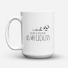"Limited Edition - ""Cichlids"" 15oz Mug - Aquarist Mugs - Mugdom Coffee Mugs"