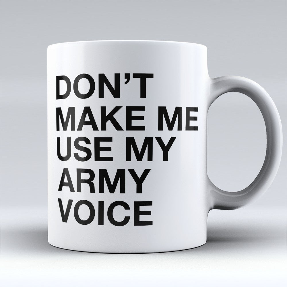 "Limited Edition - ""Army Voice"" 11oz Mug"