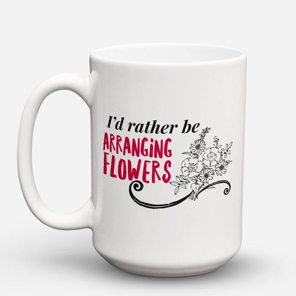 "Limited Edition - ""Arranging Flowers"" 15oz Mug"