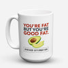 "Limited Edition - ""Dietitian Avocado"" 15oz Mug - Dietitian Mugs - Mugdom Coffee Mugs"