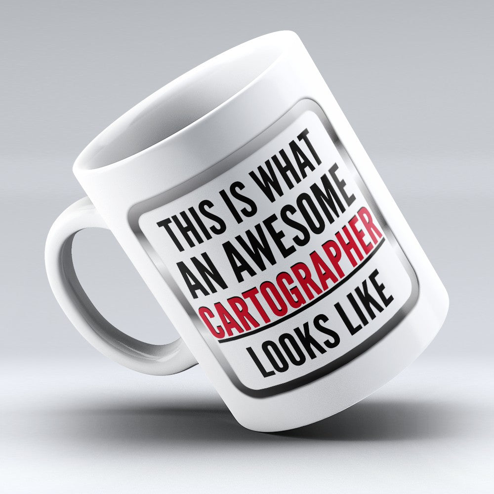 "Limited Edition - ""Awesome Cartographer"" 11oz Mug"