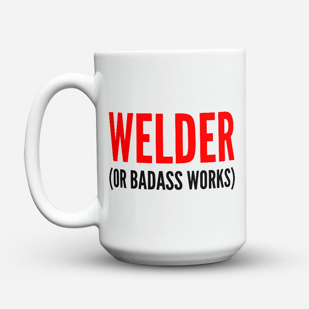 "Limited Edition - ""Badass Works"" 15oz Mug"