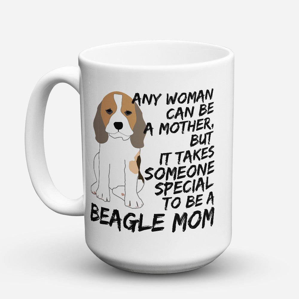 "Limited Edition - ""Beagle Mom"" 15oz Mug"