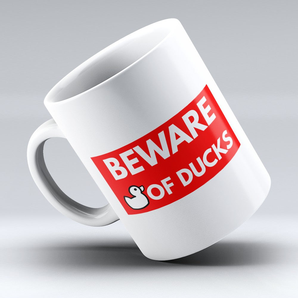 "Limited Edition - ""Beware Of Ducks"" 11oz Mug"