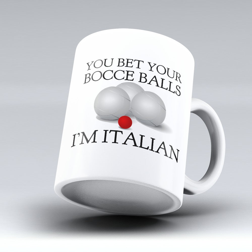 "Limited Edition - ""Bocce Balls 1"" 11oz Mug"