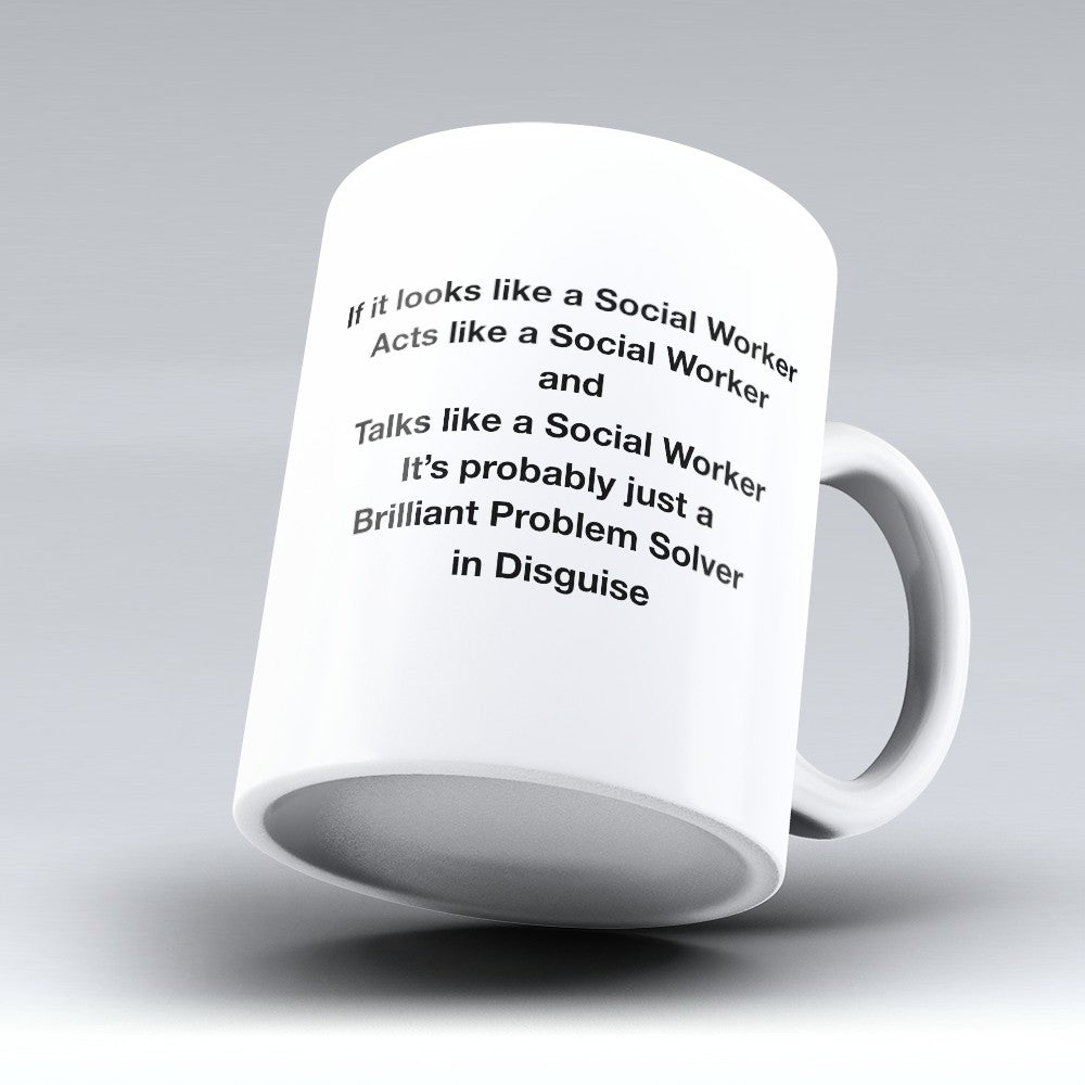 "Limited Edition - ""Brilliant Problem Solver"" 11oz Mug"