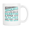 "Limited Edition - ""Cute Teacher"" - 11oz Mug - Teacher Mugs - Mugdom Coffee Mugs"