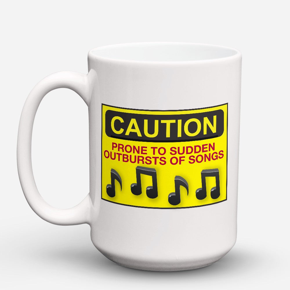 "Limited Edition - ""Caution"" 15oz Mug"