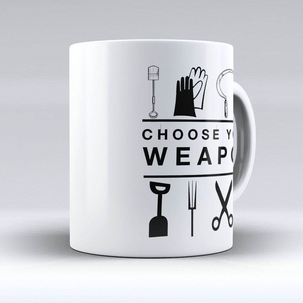 "Limited Edition - ""Choose Your Weapon"" 11oz Mug"