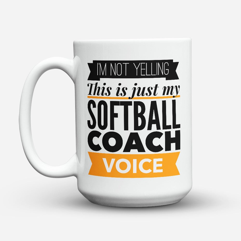 "Limited Edition - ""Coach Voice"" 15oz Mug"