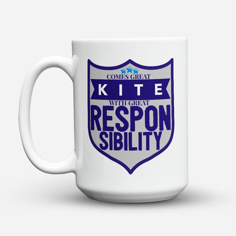 "Limited Edition - ""Comes Great Kite 3"" 15oz Mug"