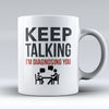 "Limited Edition - ""Diagnosing"" 11oz Mug - Counseling Mugs - Mugdom Coffee Mugs"